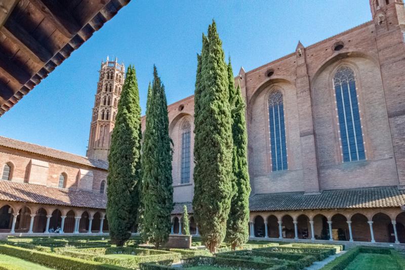 Kreuzgang und Glockenturm des Jakobinerkonvents