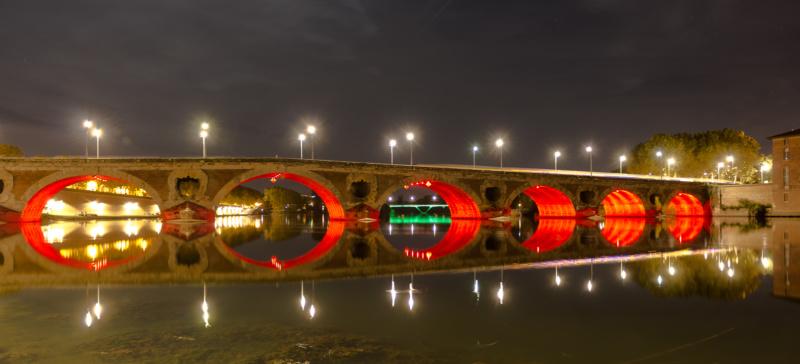 Pont Neuf bei Nacht