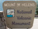 Einfahrt zum Mount St. Helens National Vulcanic Monument