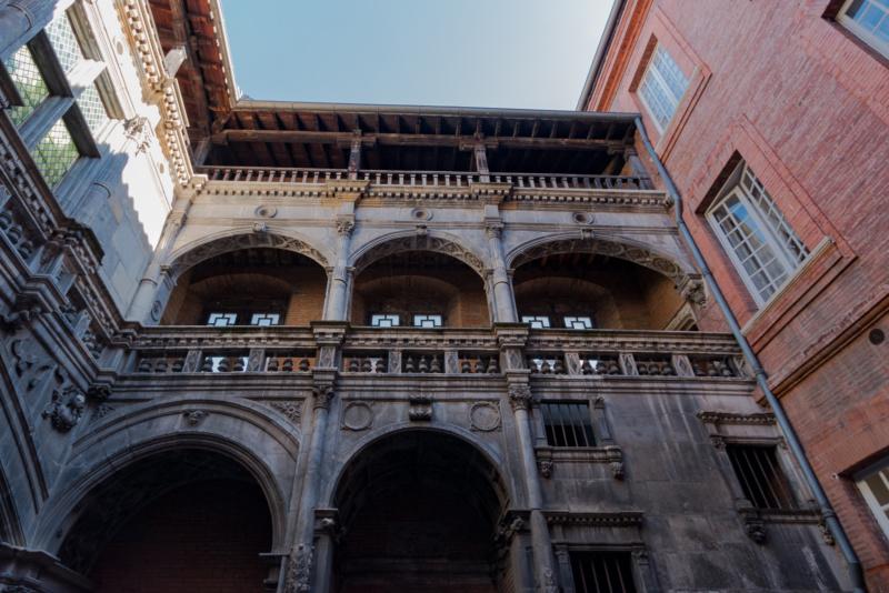 Renaissance-Innenhof des Hôtel de Bernuy
