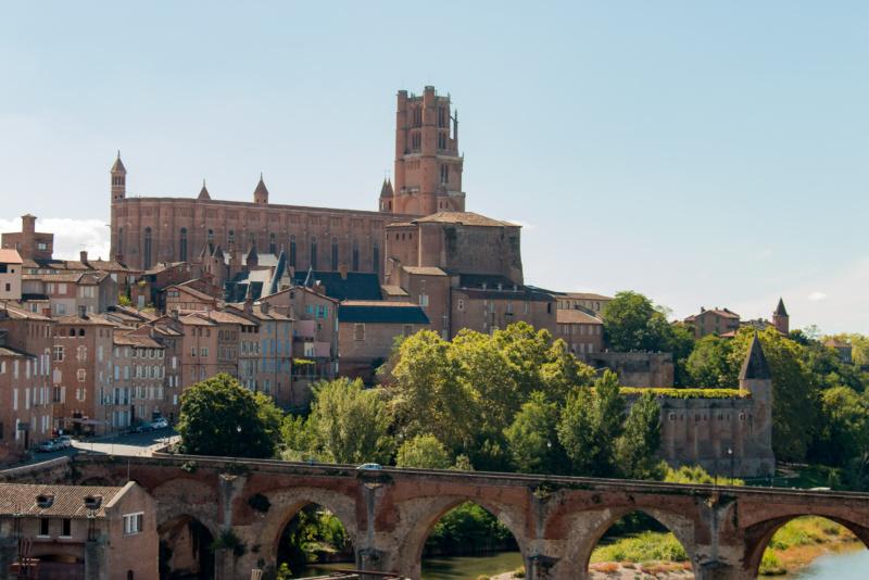 Die Kathedrale Sainte-Cécile von Albi