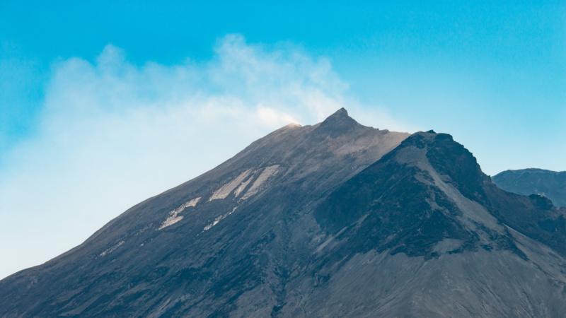 Wolken über dem Mount St. Helens