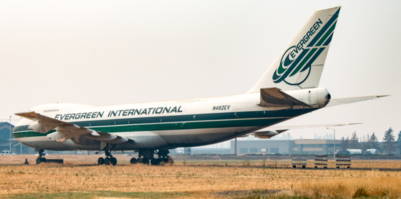 Boeing 747-100 (Reg. N482EV)