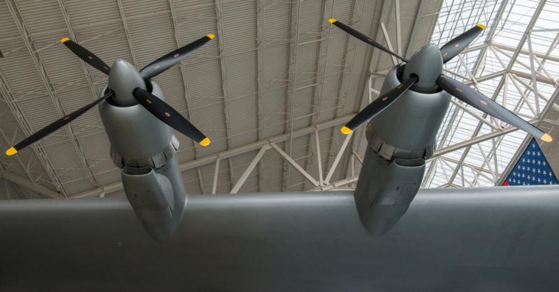 """Pratt&Whitney R-4360 """"Wasp Major"""" Motoren der Spruce Goose"""
