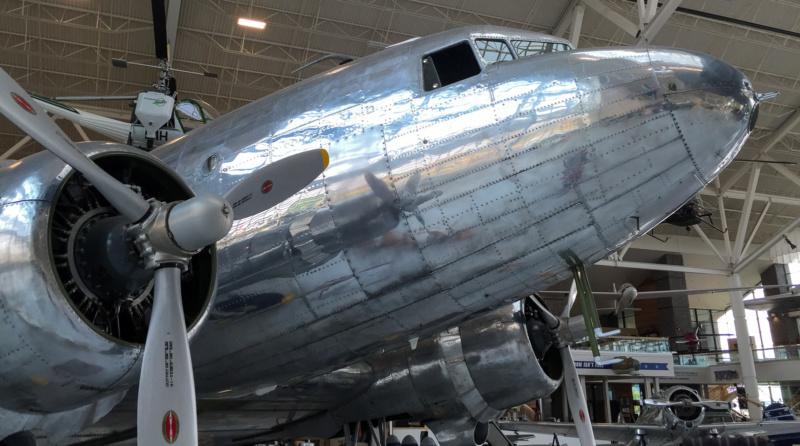 Die Douglas DC-3 fehlt wirklich in kaum einem Luftfahrt-Museum in USA