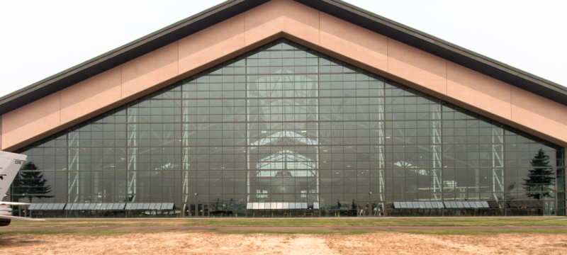 Evergreen Aviation Museum von außen