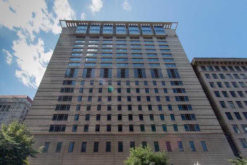 Unten Parkhaus - oben Hotel