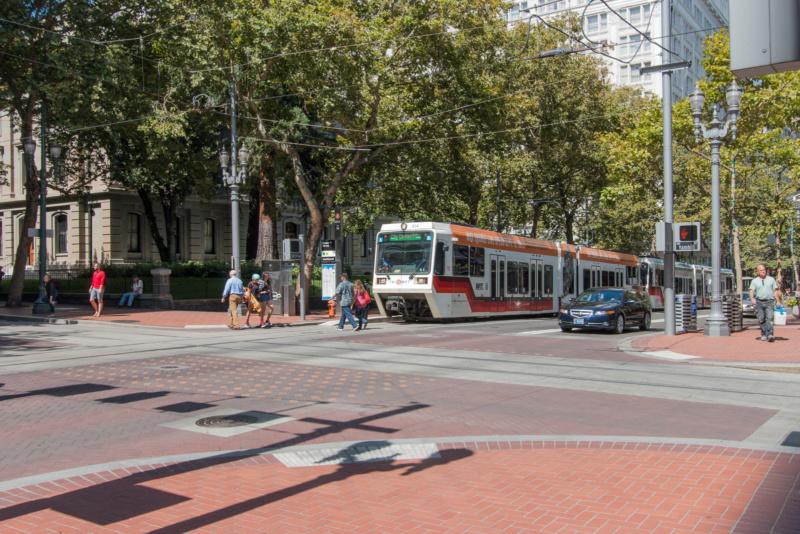Straßenbahn in Portland