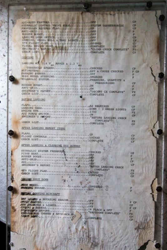 Die Checkliste der Mini Guppy - Rückseite