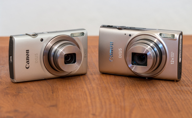Canon IXUS 175 (links) und Canon IXUS 285HS (rechts)