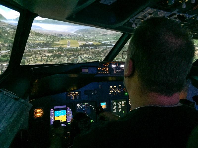 Im Endanflug auf Innsbruck