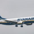 Eine Ryanair-Maschine im Anflug auf Köln (Symbolbild)