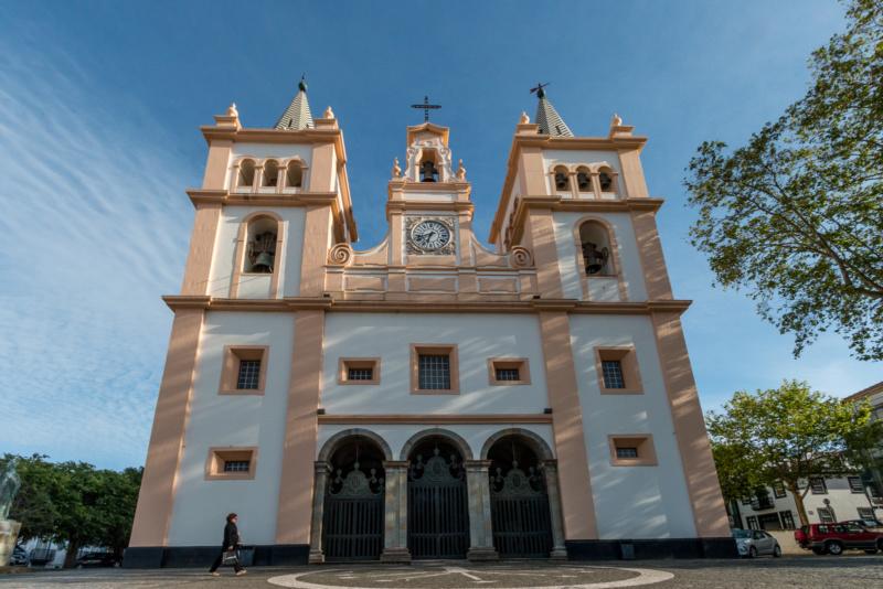 Die Kathedrale von Angra do Heroísmo