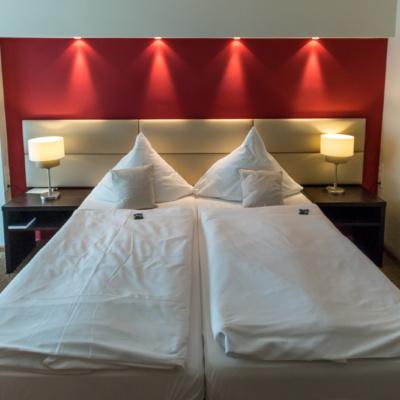 Das Bett im Lindner Hotel Schloss Reichmannsdorf