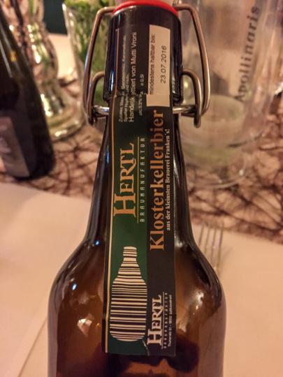 Das einzige Bier, welches mit meinem Kölsch-verwöhnten Gaumen harmonierte ;-)