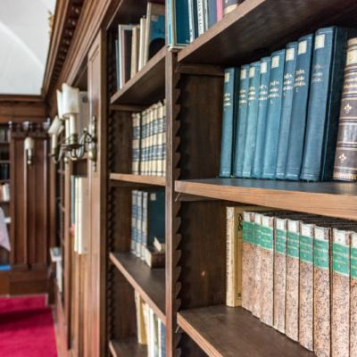 Die Freiherrliche Bibliothek des Lindner Hotel Schloss Reichmannsdorf