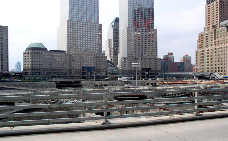 """Ground Zero"" - hier stand mal das World Trade Center, Foto: Niclas Bocionek"