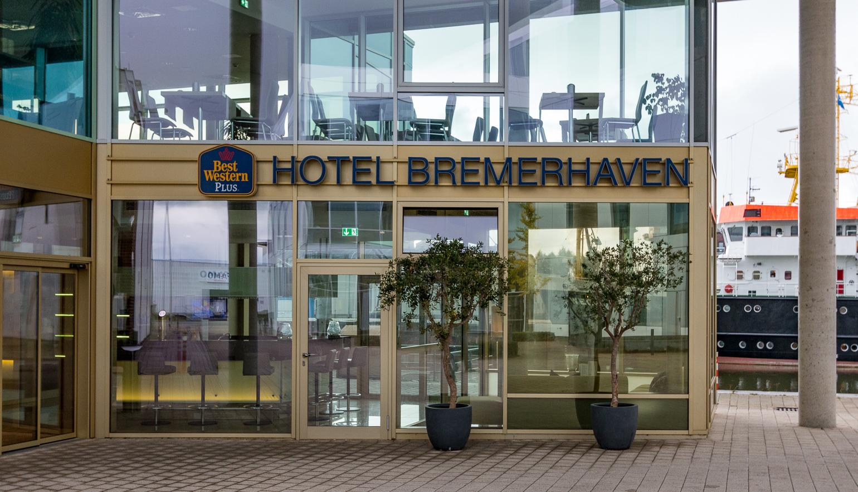 Eingang Best Western Hotel Bremerhaven
