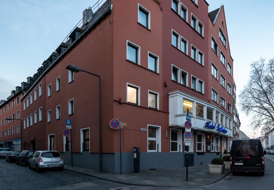 Außenansicht Hotel Lyskirchen