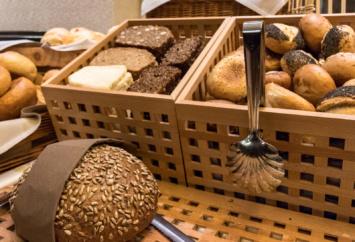 Brot- und Brötchenauswahl