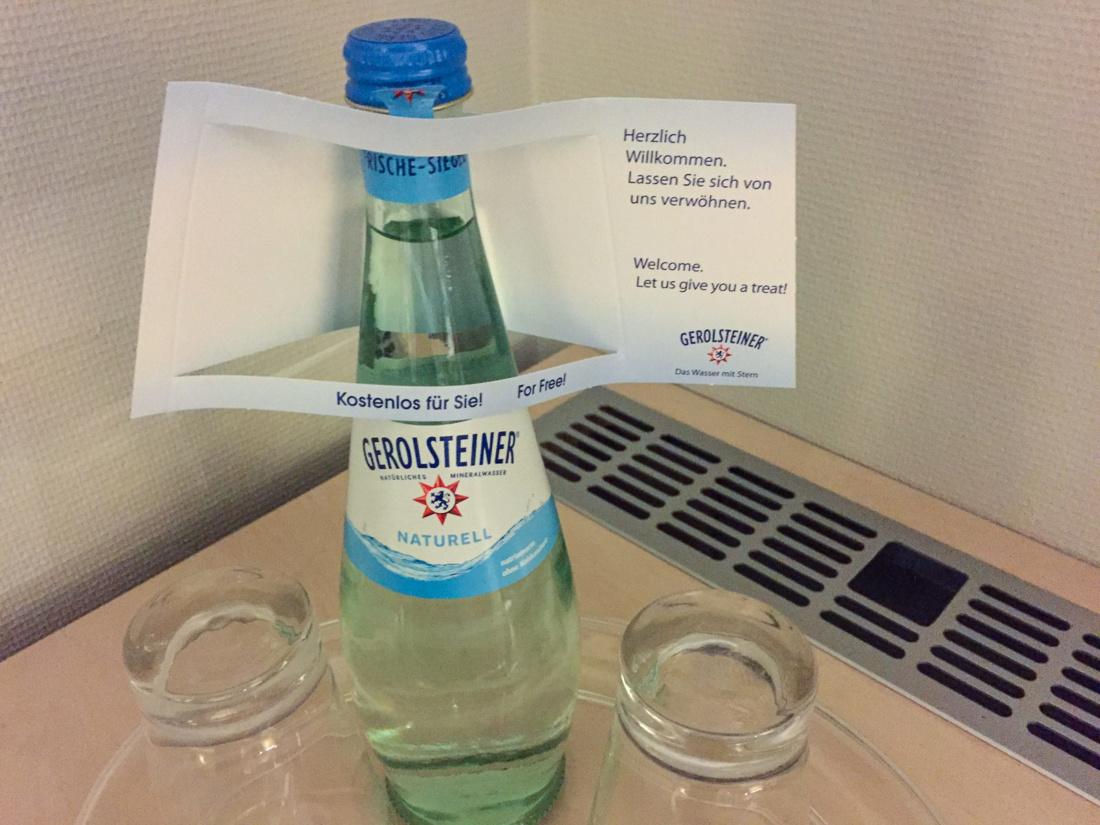 Kostenloses Mineralwasser