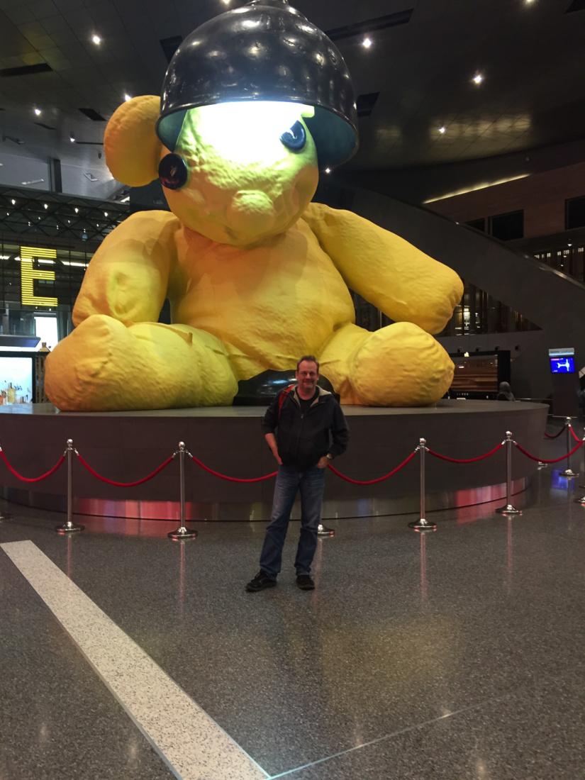 Der Lamp Bear und ich