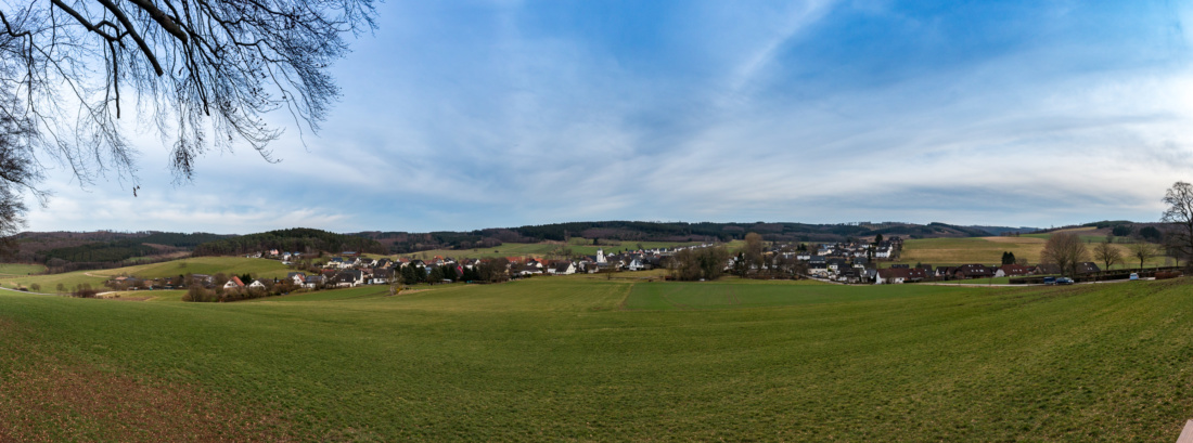 Panorama in Balve-Mellen