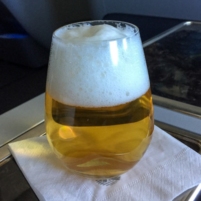 Verhältnis Bier zu Schaum fast 1:1