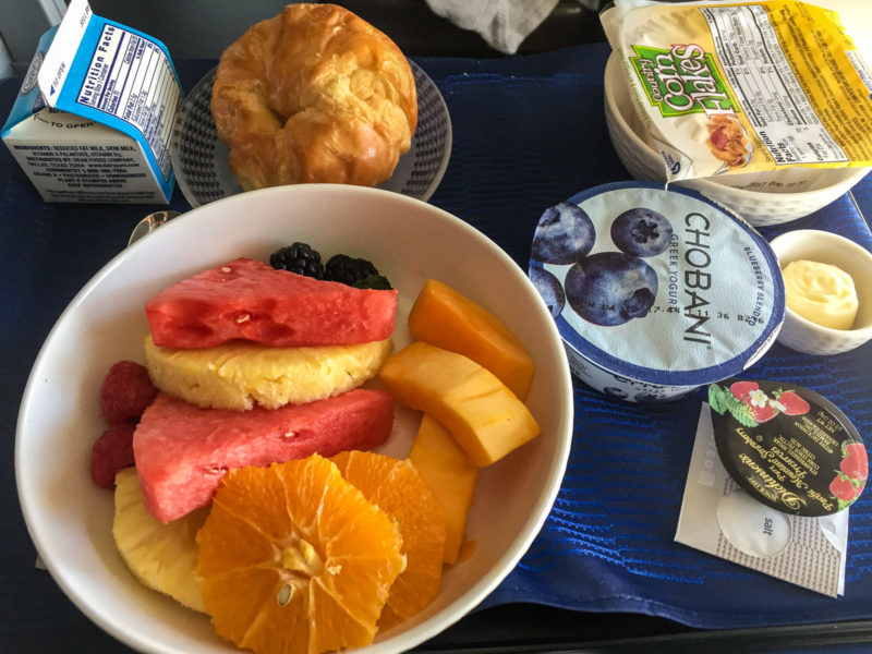 Das Frühstück, welches ich nicht komplett genießen konnte