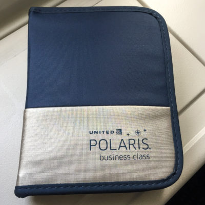 Das United Polaris Business Class Amenity Kit
