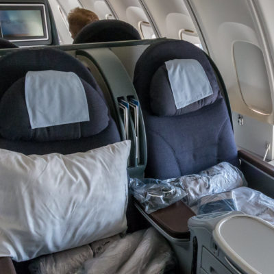 Die United Business Class Sitze