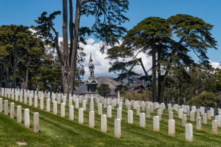 San Francisco National Cemetery im Presidio