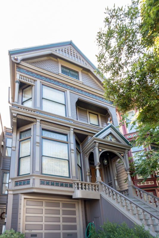 The Grateful Dead House in der Ashbury Street