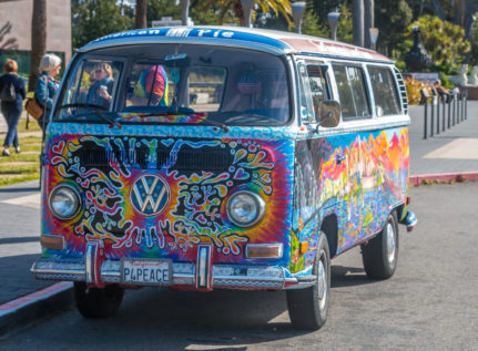 VW Bulli von San Francisco Love Tours
