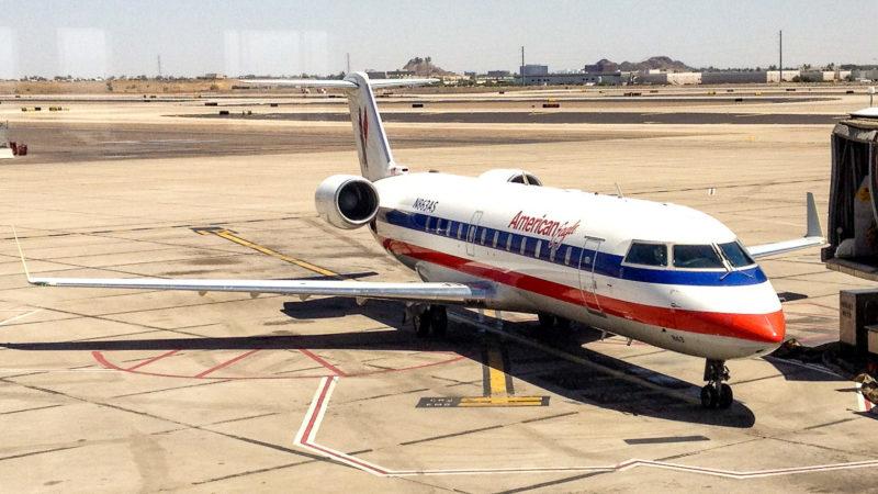 CRJ-200 Canadair RegionalJet (N863AS) von American Eagle, operated by Skywest USA