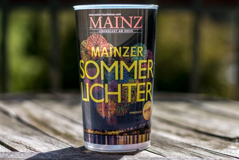 Mehrwegbecher Mainzer Sommerlichter