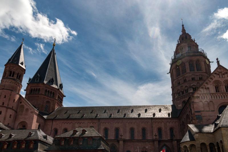 Nordseite des Mainzer Doms
