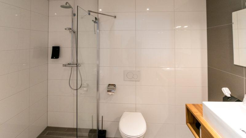 Badezimmer im Hotel Texel