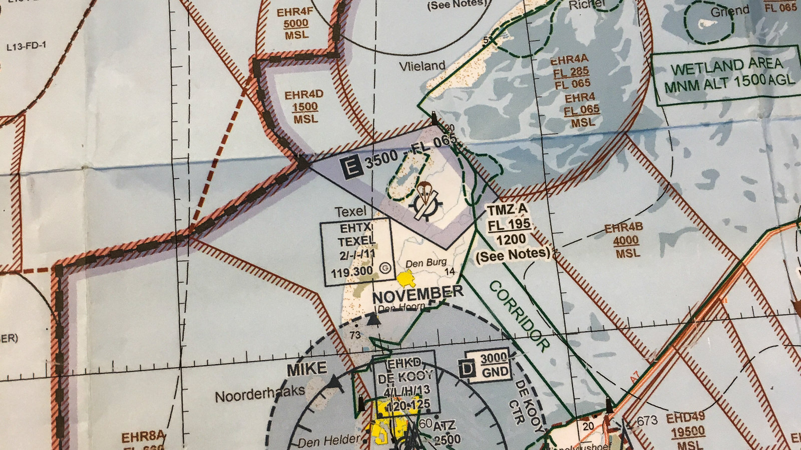 Karte Texel.Drei Farben Texel In Grün Blau Rot Reise Wahnsinn