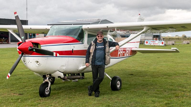 """Ich und """"unsere"""" Cessna PH-JBY"""