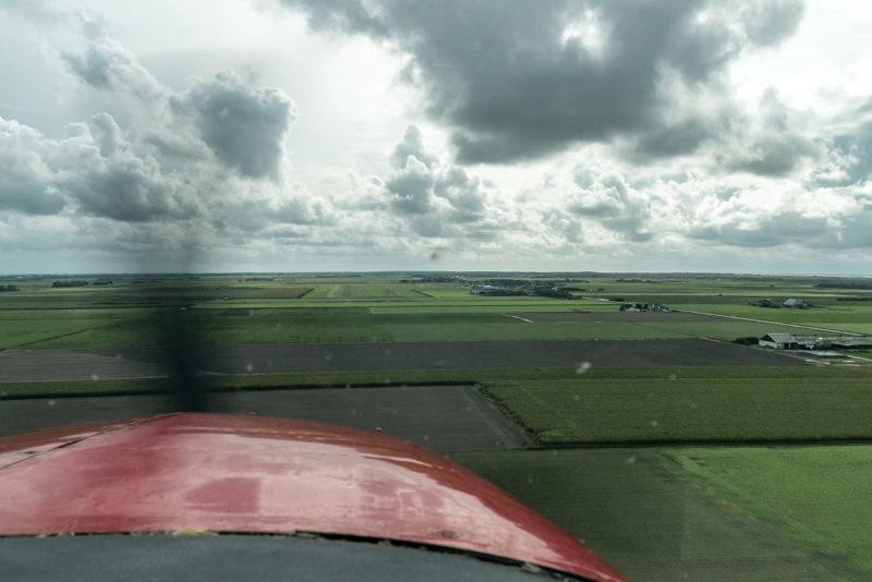 Landeanflug auf den Flughafen von Texel (EHTX)