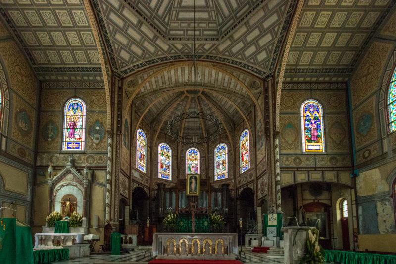 Altarraum der Kathedrale Saint-Louis in Fort-de-France