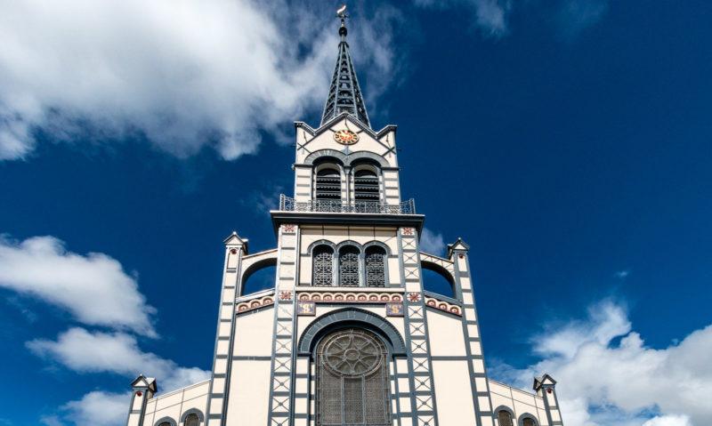 Die Kathedrale Saint-Louis in Fort-de-France