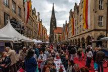 Hansemahl auf dem Prinzipalmarkt
