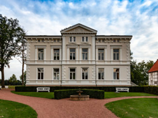 Das Herrenhaus von Gut Kump