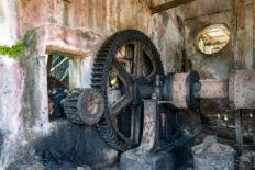 Das Getriebe des Wasserrades