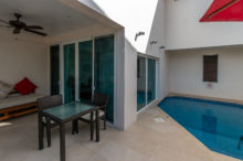Der eigene Pool der Anthurium Pool Suite im Spice Island Beach Resort