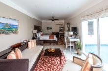 Überblick über die Anthurium Pool Suite im Spice Island Beach Resort