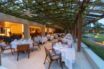 """Restaurant """"Rhodes"""" im Calabash Luxury Boutique Hotel auf Grenada"""