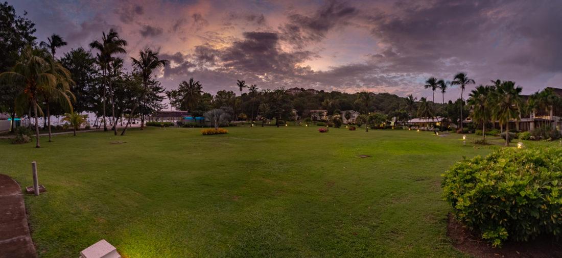 Überblick über das Calabash Luxury Boutique Hotel auf Grenada